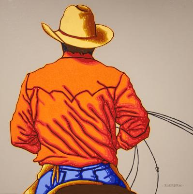 Study For Cowpoke by Tom Rierden