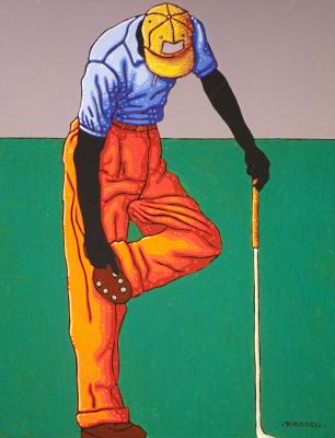 Golfer Study No.1 by Tom Rierden
