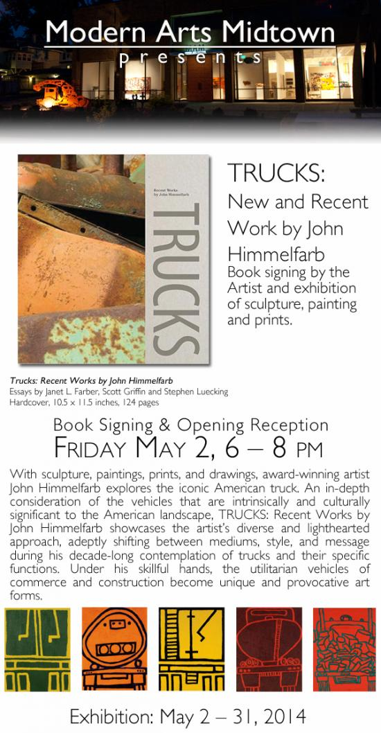 Trucks: Recent Work by John Himmelfarb   an exhibition and book signing event