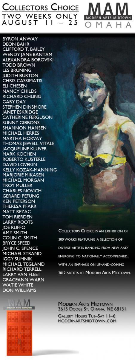 Young Art Patrons private opening August 10th, Collectors Choice Group Exhibition
