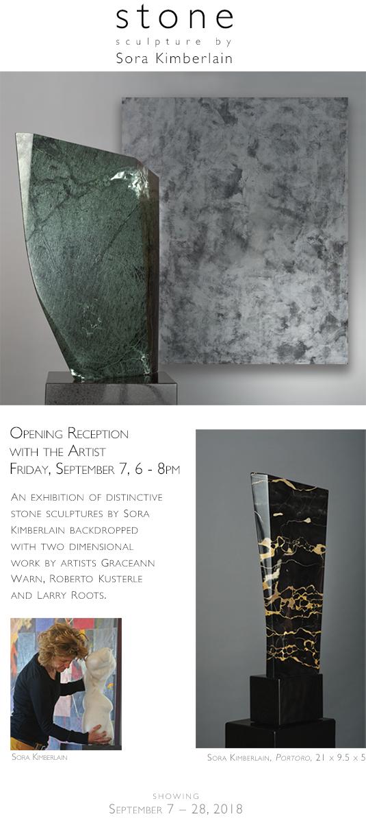 Stone: Sculpture by Sora Kimberlain