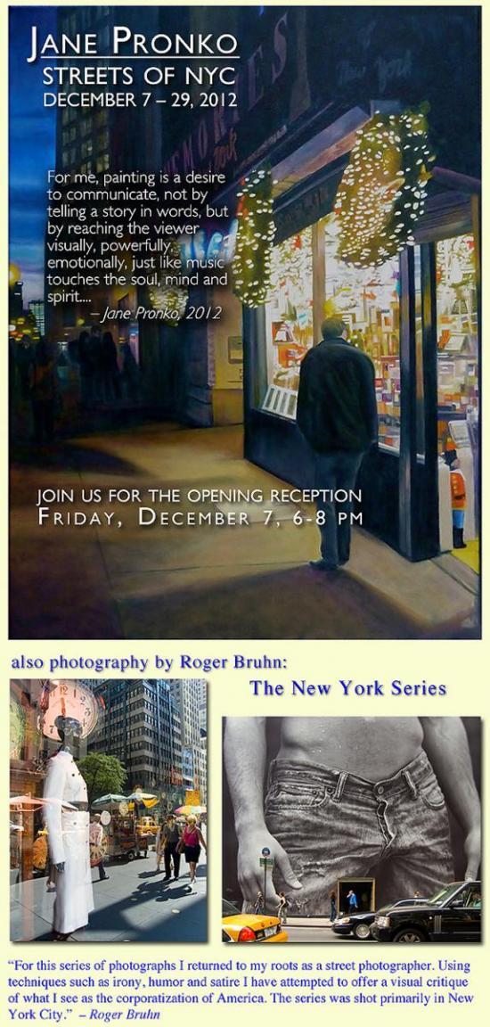 Jane Pronko: Streets of NYC