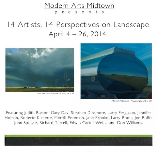 14 Artists, 14 Perspectives on Landscape