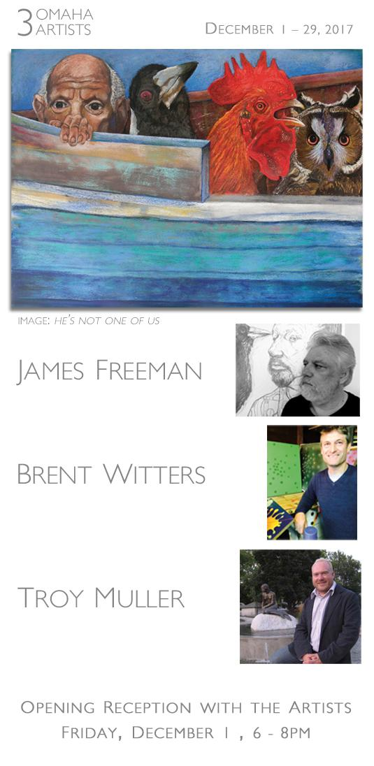 James Freeman with Brent Witters and Troy Muller