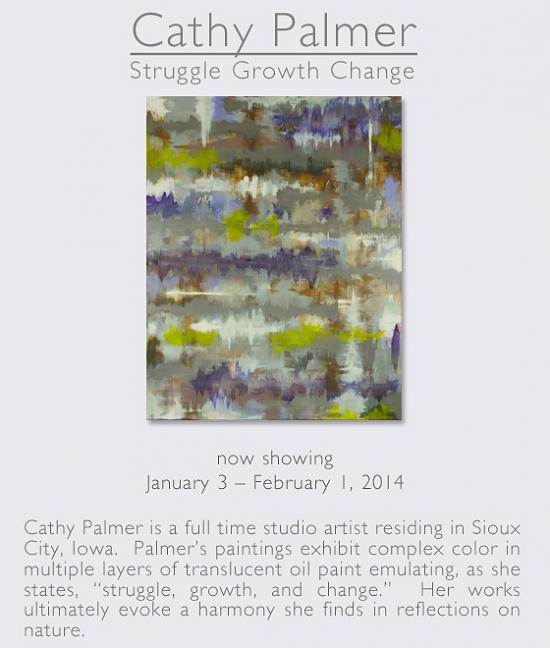 Cathy Palmer: Struggle Growth Change