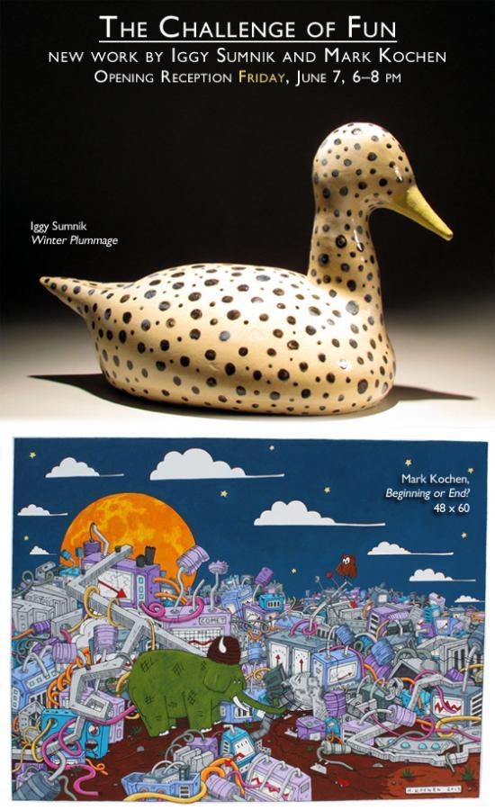 The Challenge of Fun: new work by Iggy Sumnik and Mark Kochen